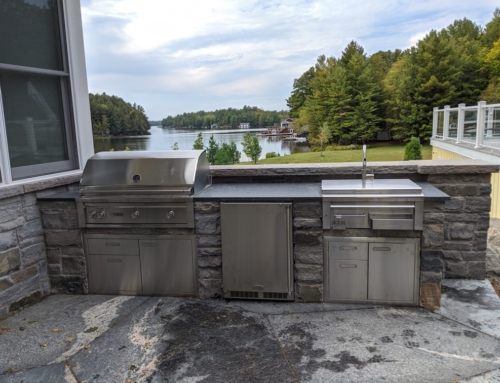Muskoka Cottage Kitchen